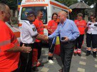115 ani de existenţă ai Serviciului de Ambulanţă sărbătoriţi prin sunet de sirenă şi steaguri fluturate