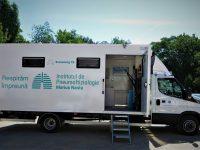 Caravană de testare gratuită a sănătăţii plămânilor