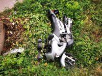 Ilişeşti: Două persoane rănite în urma unei coliziuni între motocicletă şi microbuz