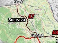 Pentru drumul de mare viteză Paşcani – Suceava – Siret s-au depus solicitări pentru certificate de urbanism  la consiliile judeţene Iaşi,  Suceava şi Botoşani