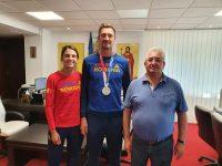 Vicecampionul olimpic Marius Cozmiuc va primi un premiu de 10.000 de lei şi titlul de cetăţean de onoare al municipiului Suceava