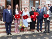 Patru personalităţi care au contribuit decisiv la deschiderea noului spital fălticenean