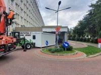 Zece noi containere pentru extinderea punctelor de triaj ale spitalelor din judeţ