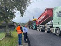 Gheorghe Flutur a verificat lucrările la drumul care va face legătura dintre zona de nord a judeţului şi viitoarea autostradă A 7