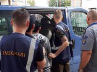 Patru migranţi din Pakistan şi-au încheiat la Gălăneşti drumul spre Italia