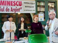 Teii eminescieni 2021 cu Doru Dinu Glăvan, preşedintele Uniunii Ziariştilor Profesionişti din România, între laureaţi