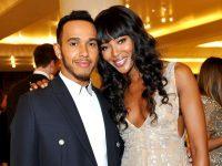 Lewis Hamilton fotografiat alături de Naomi Campbell şi alte vedete la Săptămâna Modei de la Paris