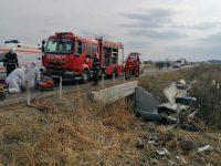 Trei morţi într-un accident rutier pe centura Rădăuţiului