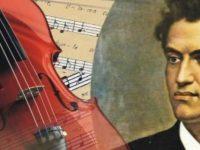Plânge în toamnă o vioară