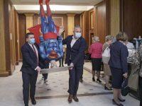 Moţiunea de cenzură iniţiată de PSD, adoptată de Parlament