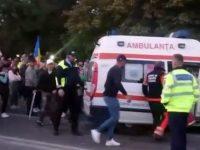 Incidente la mitingul împotriva măsurilor din pandemie