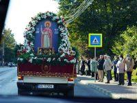 Încă o procesiune cu moaştele Sf. Ioan cel Nou pe străzile Sucevei